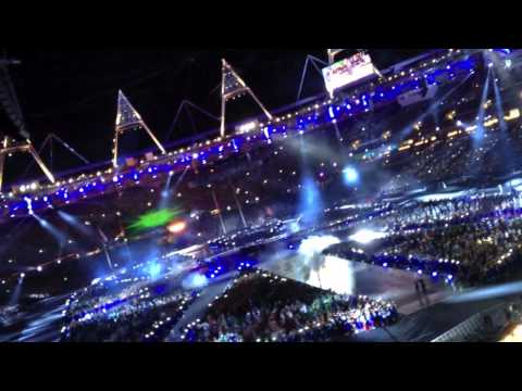 MUSE • Survival • London 2012 Closing Ceremony