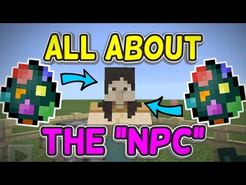 All About the New NPC in Minecraft PE 0.16.0 Beta [MCPE]