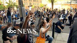 Inside the protest: What peaceful George Floyd protesters are feeling now | America In Pain
