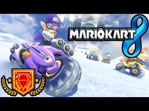 Mario Kart 8: Battle Mode Online - Ode to Waluigi, Quick Turn Gameplay Walkthrough PART 13 Wii U HD