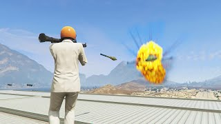 RPG vs JET PLANES (GTA 5 Funny Moments)