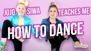 JOJO SIWA TEACHES ME HOW TO DANCE | Baby Ariel