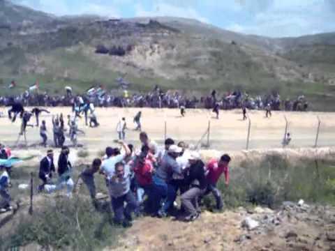 תיעוד המהומות בגבול סוריה