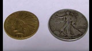 $10 Gold Eagle - Size Comparison