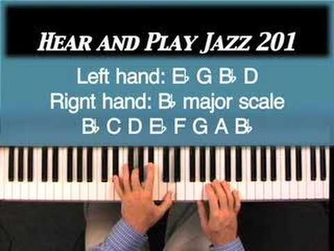 Hear and Play Jazz 201: 2-5-1 Voicings with Both Hands in Major and Minor Scale