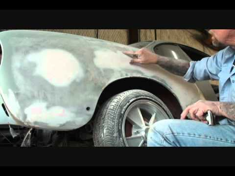 Classic Car Restoration: How To Block Sand Bondo With Air Tools-Part 1