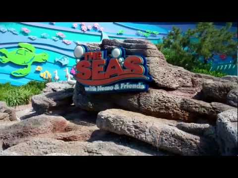 The Seas with Nemo & Friends + Sea Base 2011 HD - Walt Disney World