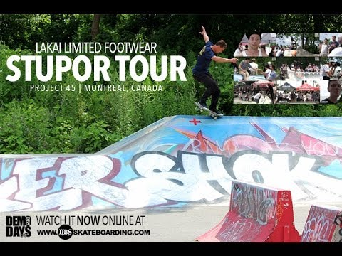 "LAKAI ""STUPOR TOUR"" 2014 AT PROJECT 45 : MONTREAL, CANADA"