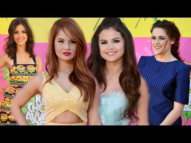 Selena Gomez, Kristen Stewart, Victoria Justice, Debby Ryan - Kids' Choice Awards 2013 Fashion Recap