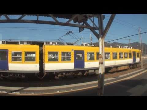 【車窓風景】 一畑電車 今市線(下り) 電鉄出雲市→一畑口