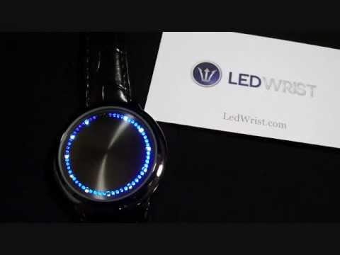 LED Watch - Blue LED Touch Watch