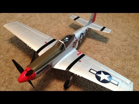 Unboxing. Review. and Maiden of the Parkzone Ultra Micro P-51 Mustang BNF with AS3X Technology