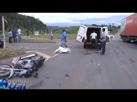 Motociclista tem o pé arrancado e morre em grave acidente