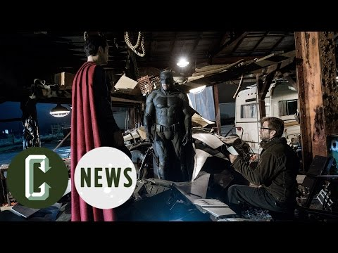 Justice League - Zack Snyder on Working with Warner Bros. & Geoff Johns