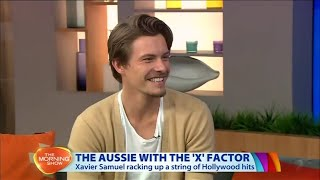Xavier Samuel on the The Morning Show (27/05/2015)