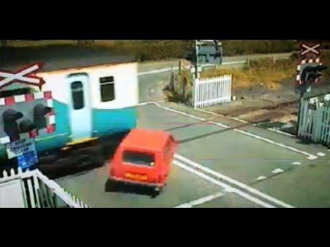 Top Gear Car Darts Car Hit by Train Top Gear