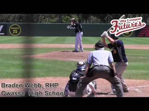 Braden Webb Prospect Video, RHP, Owasso High School Class of 2014 @acbaseballgames