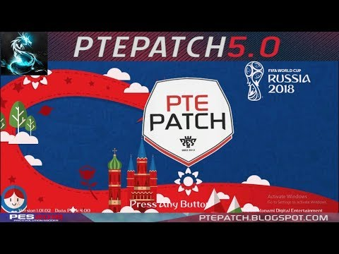 [PES18] PTE 2018 5.0 + World Cup Russia Patch| Download + Install | HD thumbnail