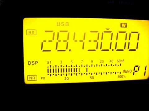Icom IC-718 on 10 Meters USB