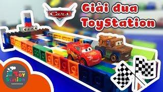 Giải đua xe mini tự chế từ đồ chơi Cars 3 và Lego - ToyStation 137