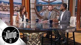 Where do the Los Angeles Lakers rank after adding LeBron? | The Jump | ESPN
