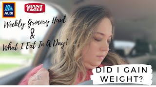 NEW What I Eat In A Day on WW Green Plan | LARGE Weekly Grocery Haul | ALDI Haul