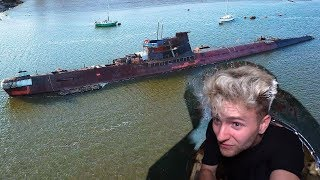 Old Soviet Submarine Emerges From Water - We Explored It!!