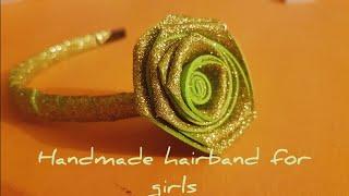 DIY Headband for Babies | How to make Flower Hair Band for Baby Girl at Home | DIY Headband Ideas