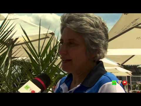 Policlinico Gemelli, Tennis and Friends – Intervista a Anna Paola Concia – www.HTO.tv