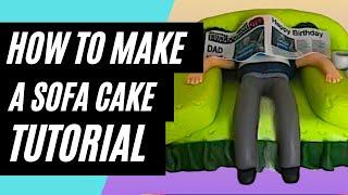How To Make A Sofa Cake