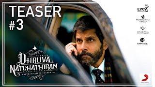 Dhruva Natchathiram – Official Teaser | Chiyaan Vikram | Gautham Vasudev Menon | Harris Jayaraj