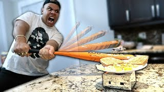 THIS PLATE CAN NOT BE BROKEN!! (IMPOSSIBLE CHALLENGE)