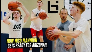 This Is How Nico Mannion Is Getting Ready For ARIZONA!! All Access Exclusive