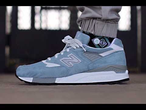 "New Balance 998 Made In USA ""Pool Blue"" (Light Blue)"