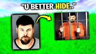 Creepy Guy Is Back From JAIL - Fortnite