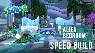 The Sims 4 Speed Build | Alien Bedroom