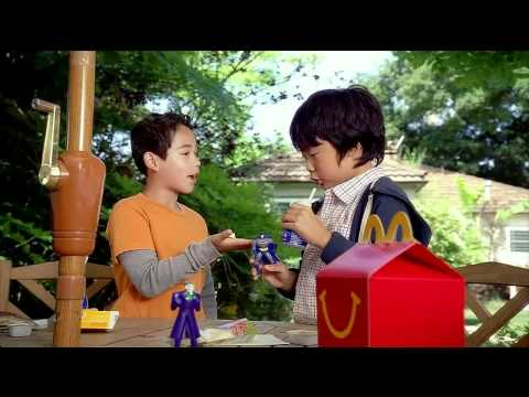 McDonald's - Batman The Brave and The Bold Toys Commercial with Ethan Lee