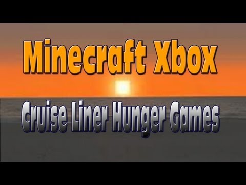 Minecraft Xbox Cruise Liner Hunger Games W/  Download