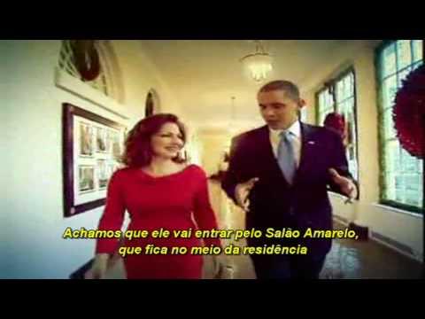 Gloria Estefan e o Presidente Barack Obama na Casa Branca (Legendado-BR)