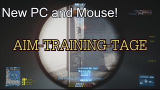 New PC and Mouse!! Aim-training-montage! | BF3
