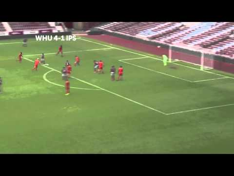 Alex Song (West Ham) - Great assist - www.weloba.com