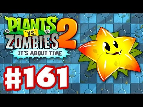 Plants vs. Zombies 2: It's About Time - Gameplay Walkthrough Part 161 - Starfruit (iOS)