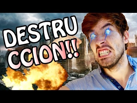 GERMAN EL DESTRUCTOR!! | Happy Wheels - JuegaGerman