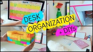 Back to School Desk Organization + DIYs | 2016