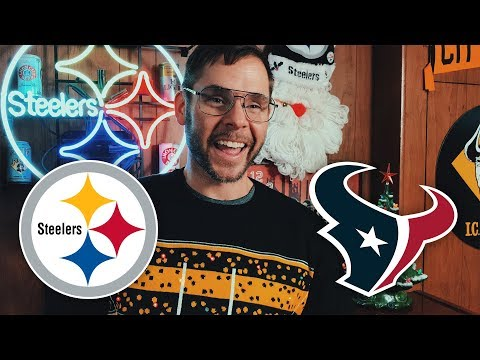 Dad Reacts to Steelers vs Texans (Week 16)