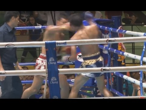Muay Thai - Pakorn vs Seksan - New Lumpini Stadium, 2nd May 2014 Image 1