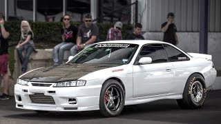 1600hp 2JZ Nissan 240sx - V8 Slayer!