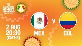 Мексика до 18 (Ж) : Колумбия до 18 (Ж)