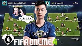FIFA ONLINE 4 | Kèo Căng Hiếu Hakumen Vs Lee Hari: BÁN KẾT Gọi Tên AI ? | Tứ Kết SGFC CUP #1
