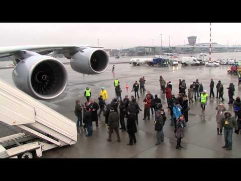 Airbus A380 Na Lotnisku Chopina (Warszawa/EPWA) - Wersja Pełna HD